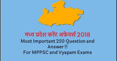 madhya-pradesh-current-affairs-2018